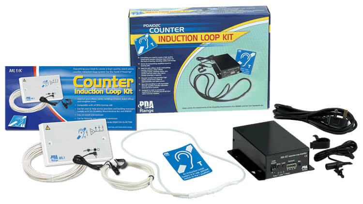 an induction loop kit for people who are hard of hearing