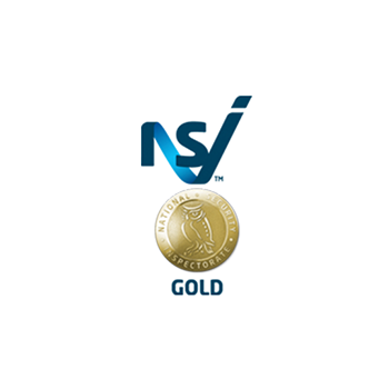 We are delighted to be able to present the NSI Gold approved logo as we've passed with flying colours.