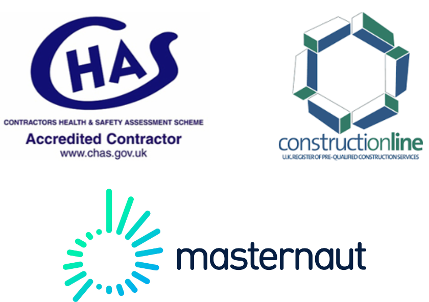 CHAS, ConstructionLine and MasterNaut Accreditations